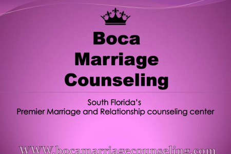 Boca Marriage Counseling | Boca Raton, FL Infographic