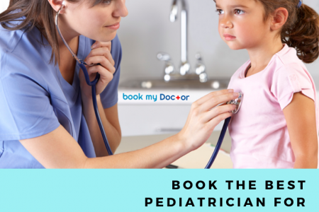 Book Appointment For Paediatrician: Book My Doctor Infographic