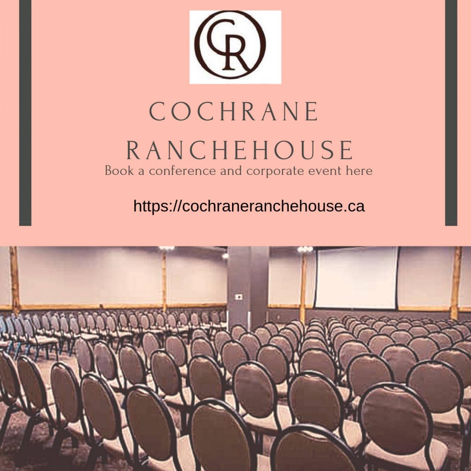 BooK for conference and meeting venues at Coch Ranche house Infographic