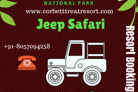 Book Jeep Safari and Wildlife Resort In Jim Corbett National Park Infographic