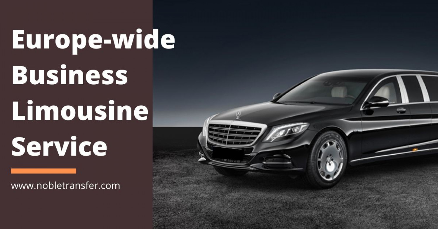 Book Limousine Services in Switzerland and Europe Infographic