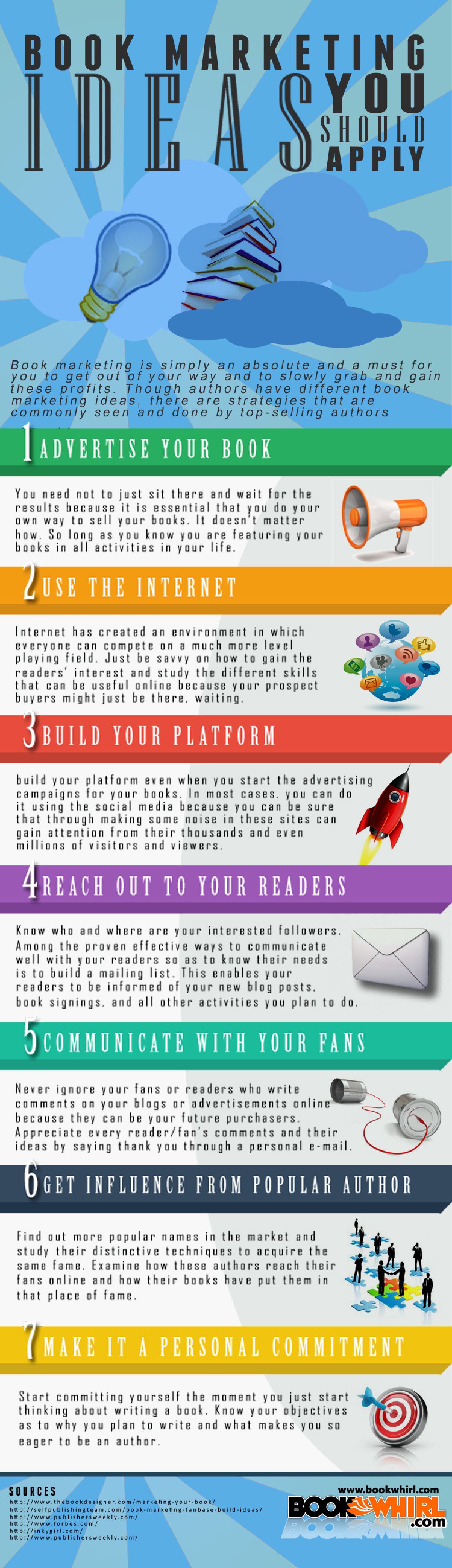 Book Marketing Ideas You Should Apply Infographic