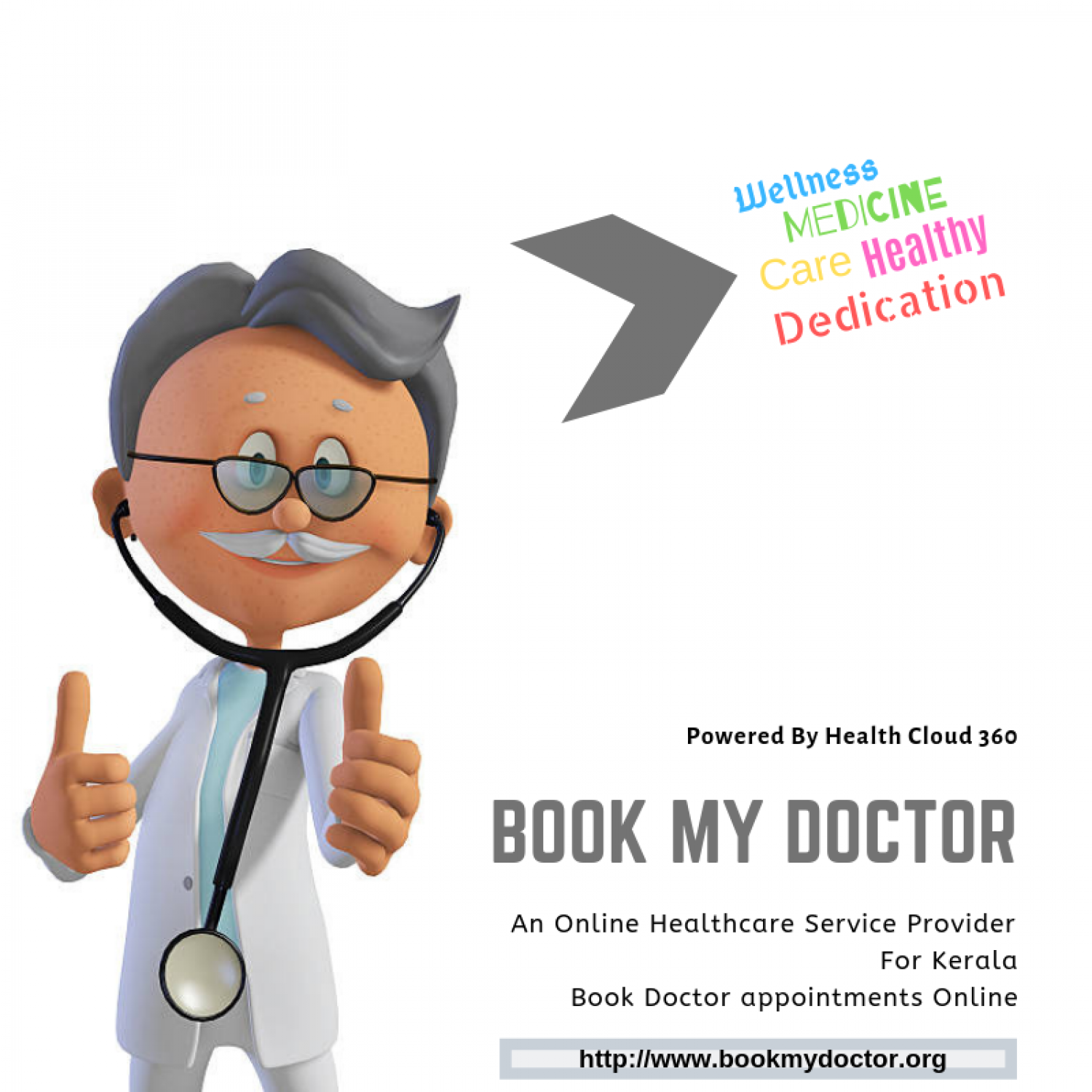 Book My Doctor: A Map To Your Healthcare Needs Infographic