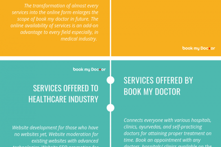 Book My Doctor: An online space for healthcare Infographic