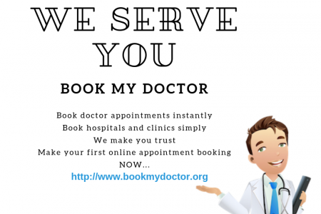 Book My Doctor: Makes Healthcare Simple Infographic