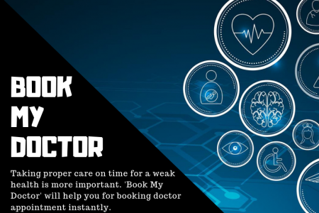 Book My Doctor: Time to book doctor online Infographic