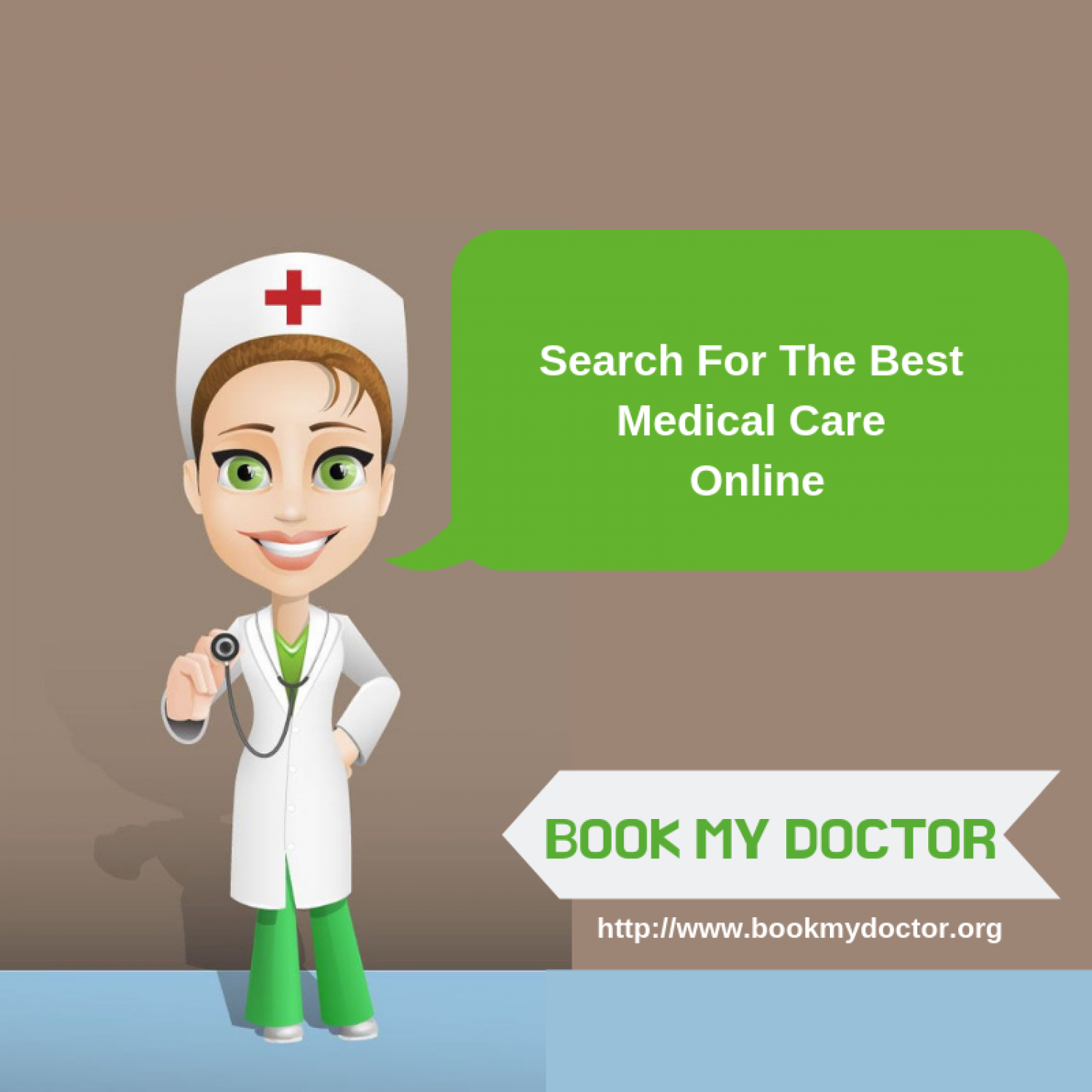 Book My Doctor: Time to care your health online Infographic