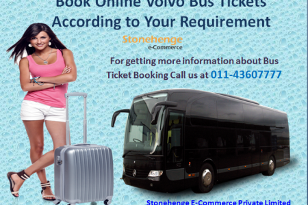 Book Online Volvo Bus Tickets According to Your Requirement Infographic