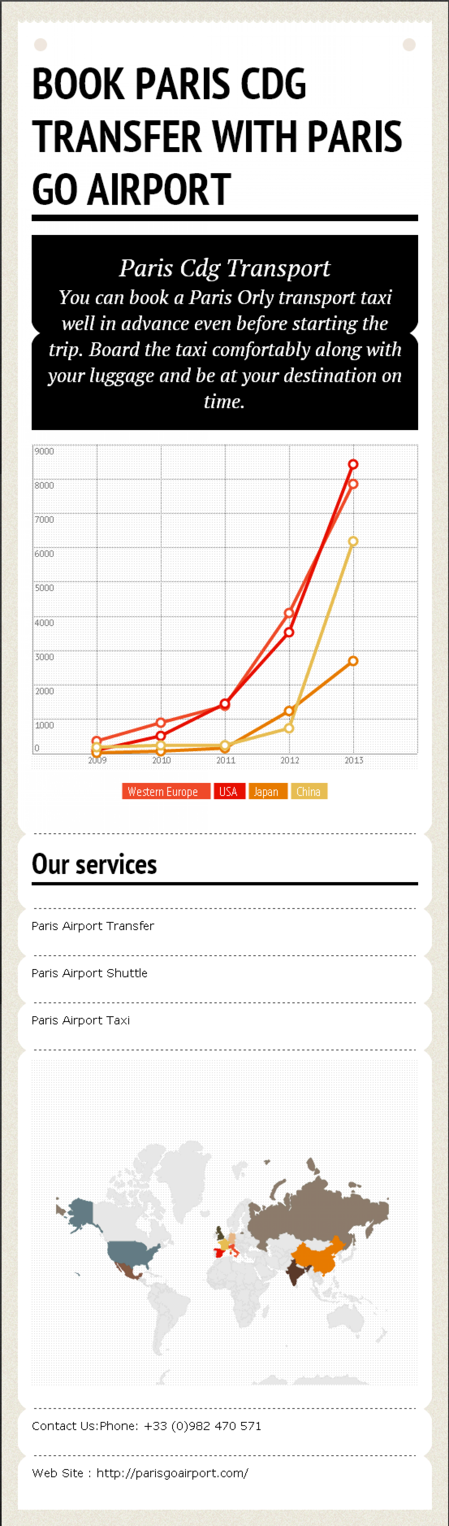 Book Paris Orly Transfer With Paris Go Airport Infographic