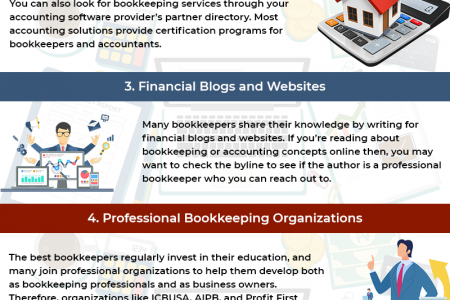 Bookkeeping Services for Small Business Infographic