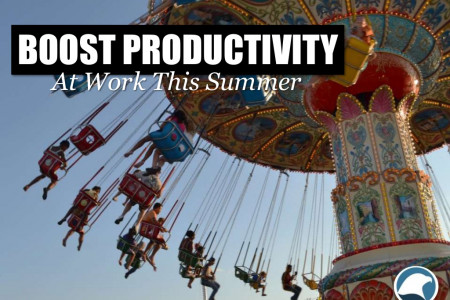 Boost Productivity At Work This Summer Infographic
