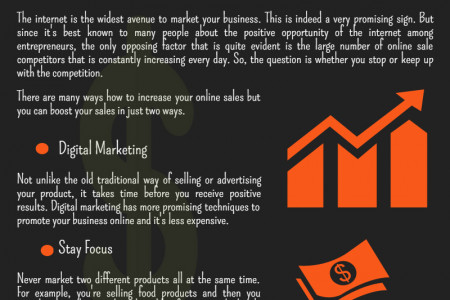 Boost Your Sales in Two Ways Infographic