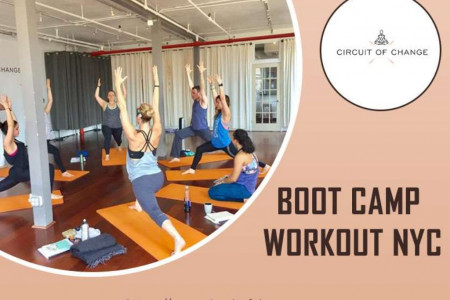 Boot Camp Workouts | Bootcamp Exercises | The Circuit Gym Infographic