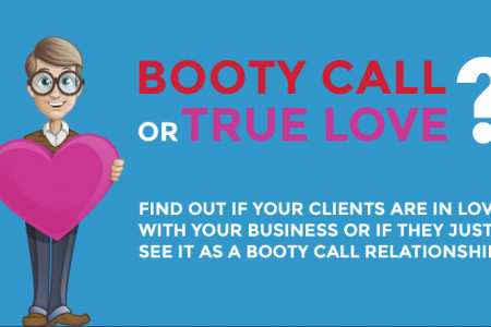 Booty Call or True Love? Infographic