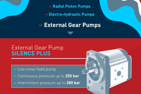 Bosch Rexroth Hydraulic Pumps Infographic