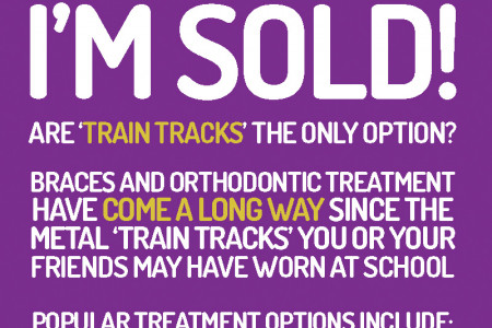Brace Yourself: It's Never Too Late To Straighten Your Smile Infographic