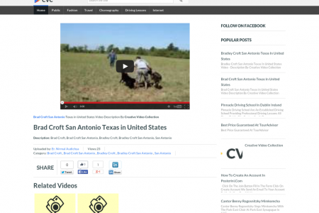 Brad Croft San Antonio Texas in United States - CVC Infographic