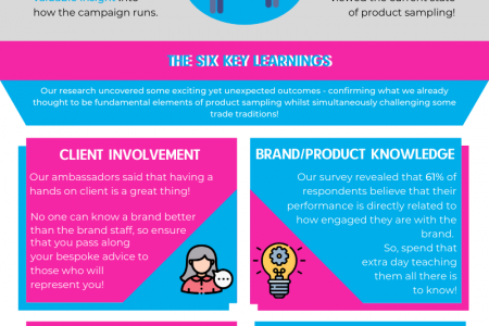 Brand Ambassadors' Research Infographic