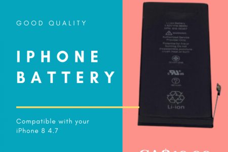 Brand new iPhone Battery Replacement Infographic