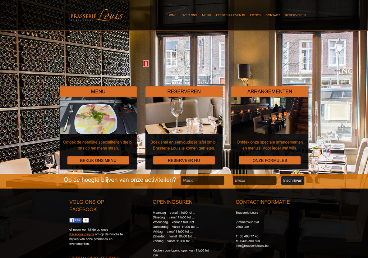 Brasserie Louis Infographic