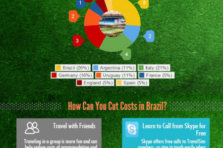 Brazil World Cup 2014 Facts and Travel Tips Infographic