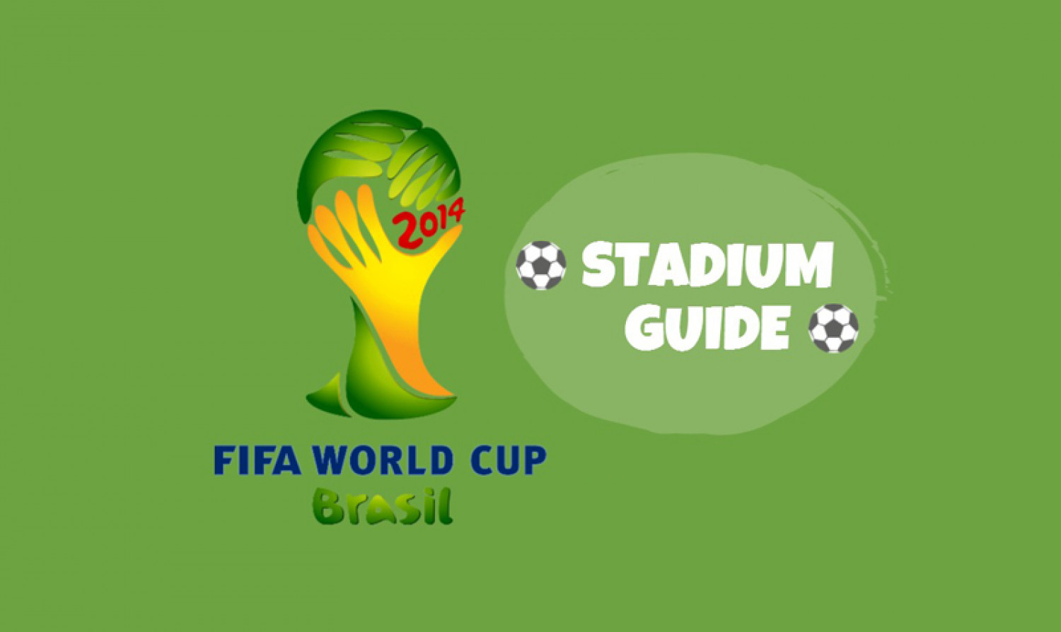 Brazil World Cup 2014 Stadiums Guide Infographic
