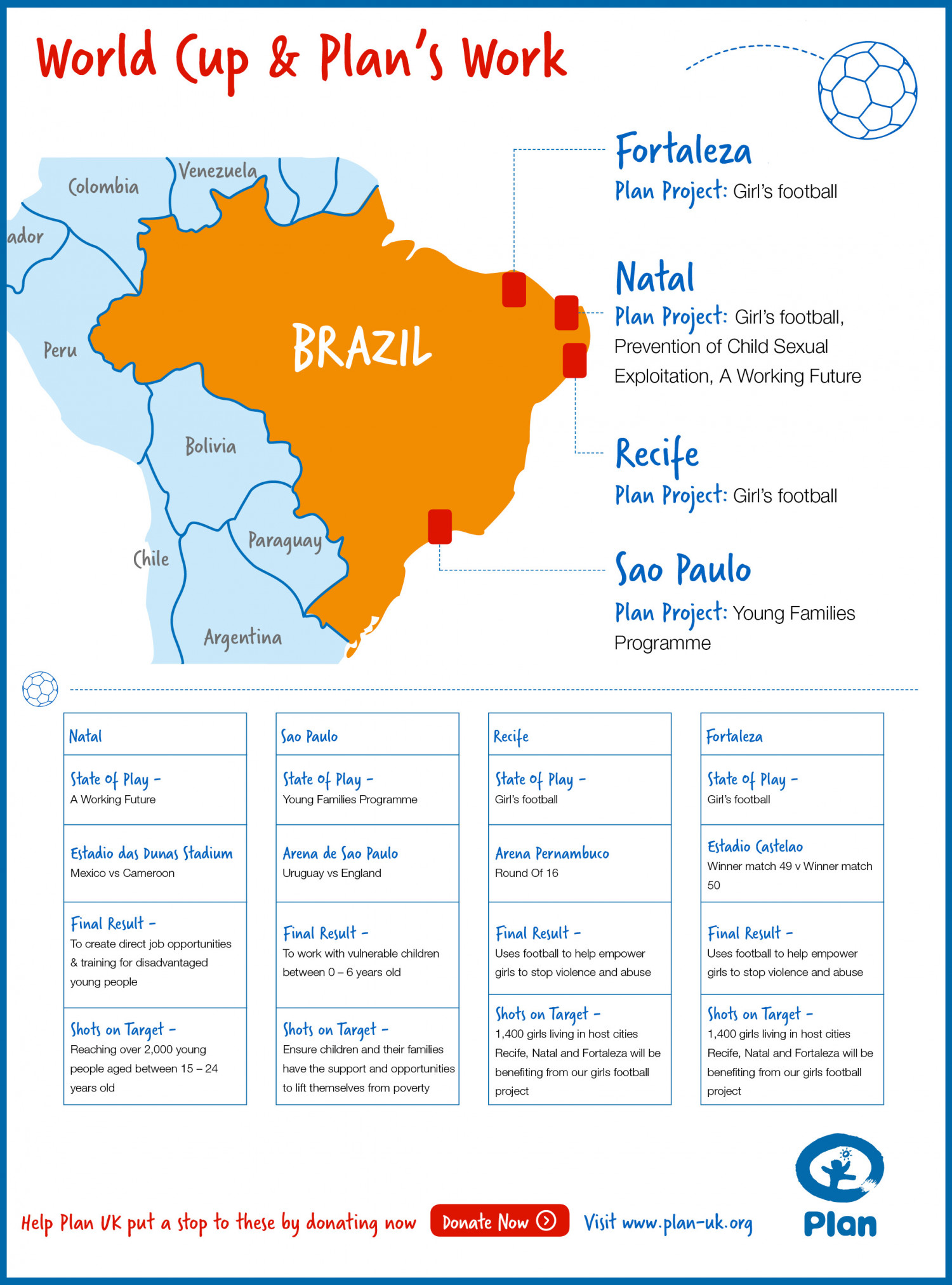 Brazil World Cup Infographic
