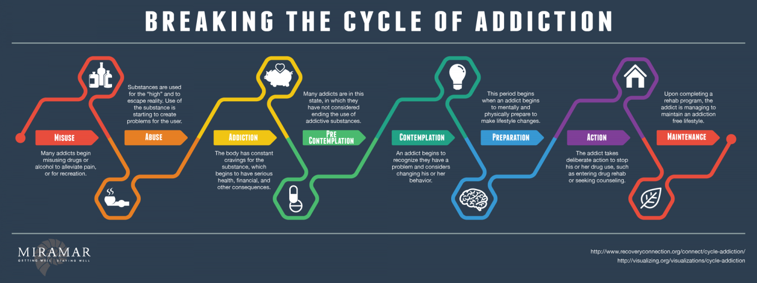 Breaking the Cycle of Addiction | Visual.ly