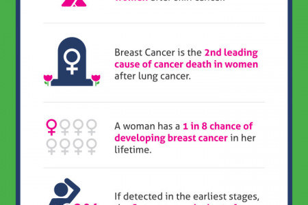 Breast Cancer Statistics  Infographic