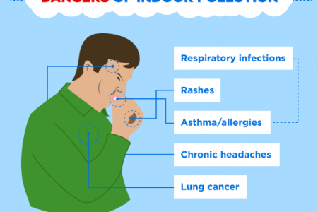 Breathe Easy with Indoor Air Filtration Infographic