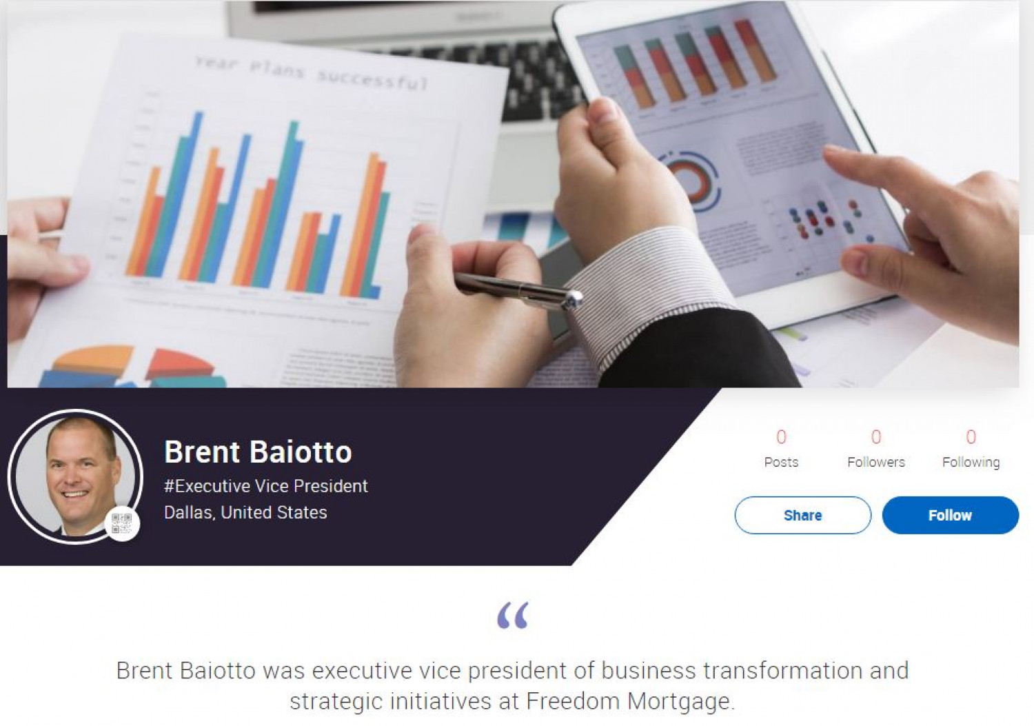 Brent Baiotto Infographic