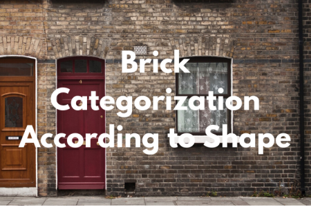 Brick Categorization According to Shape Infographic