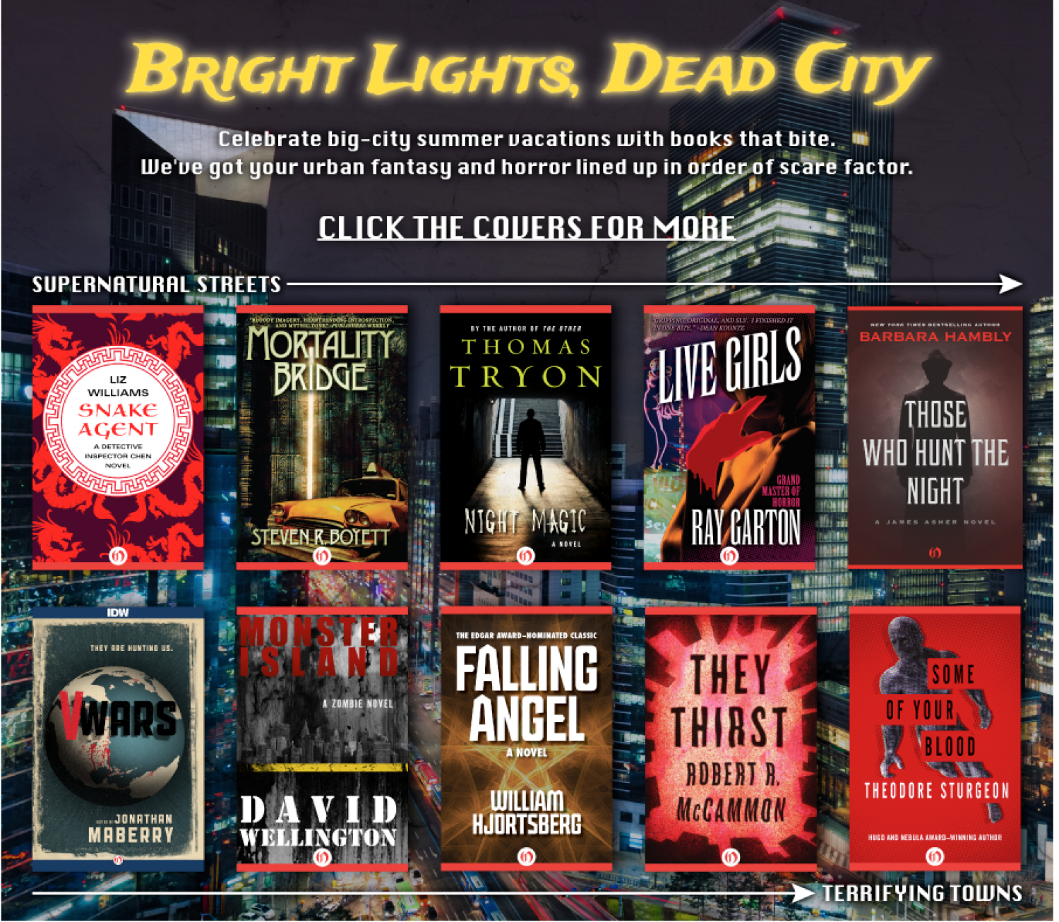 Bright Lights, Dead City Infographic