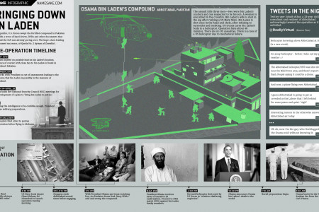 Bringing Down Bin Laden  Infographic