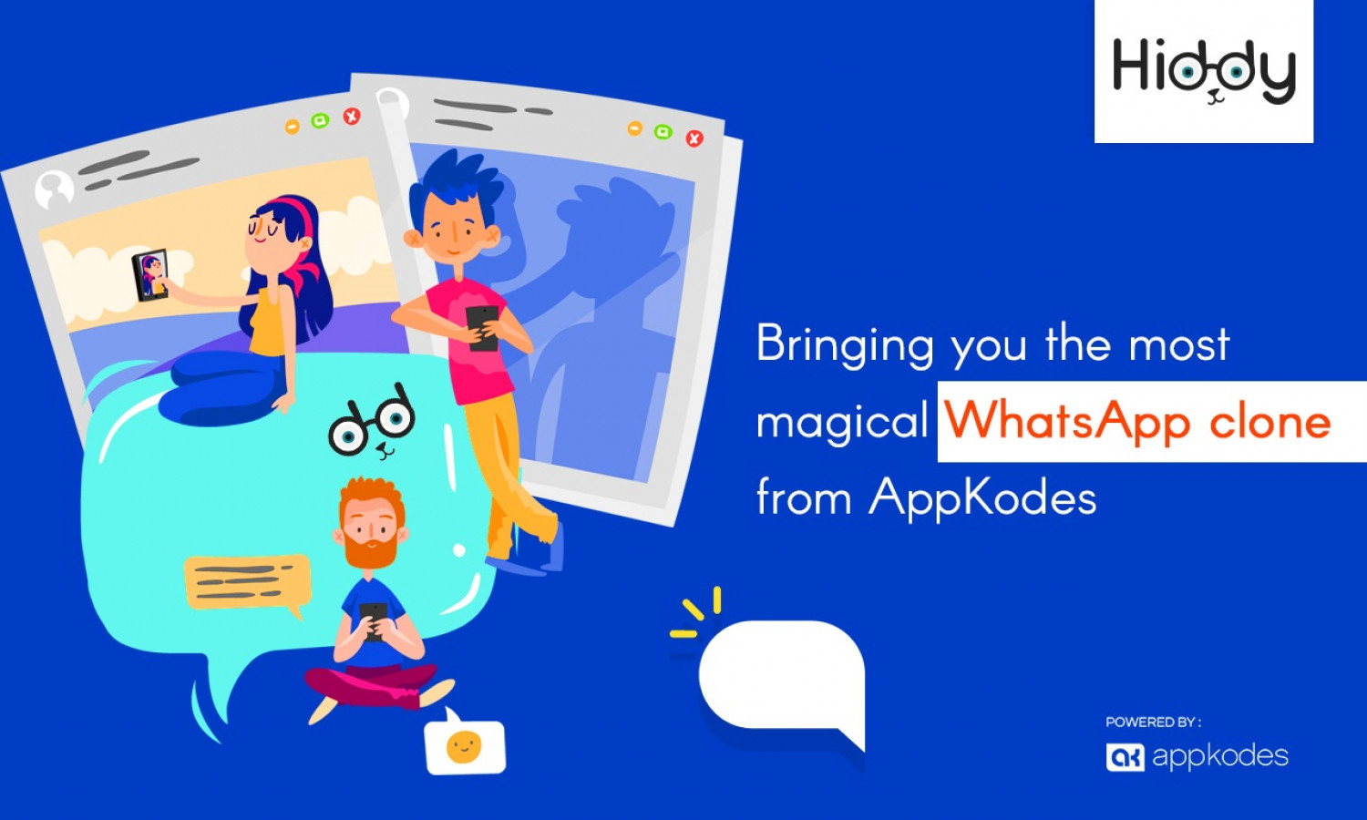 Bringing you the most magical whatsapp from appkodes Infographic