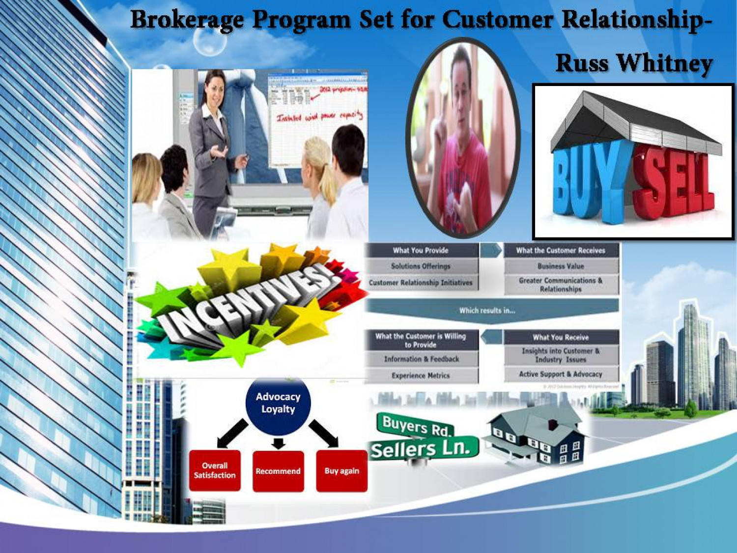 Brokerage Program Set for Customer Relationship Infographic