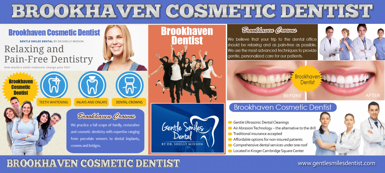 Brookhaven Cosmetic Dentist Infographic