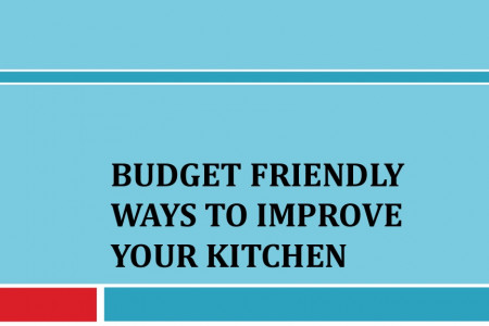 Budget Friendly Ways to Improve Your Kitchen Infographic