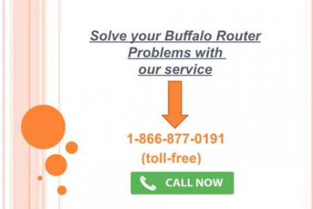 Buffalo Router Tech Support Infographic