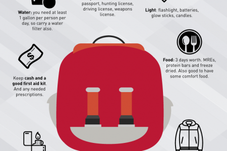 Bug Out Bag Infographic Infographic