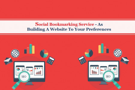 Build Website To Your Preference With Social Bookmarking Infographic