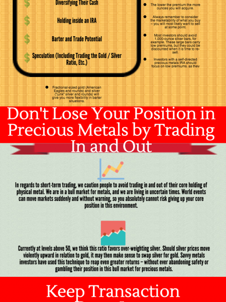Building a Precious Metal Portfolio That's Right for You Infographic