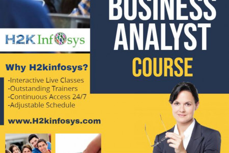 Business Analyst Course Infographic