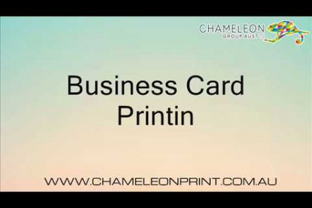 Business Card Printing Infographic