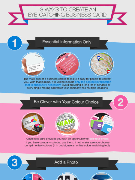 Business Cards: Here's What You Need to Know Infographic