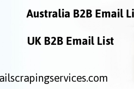 Business Email Scraping | Email Database List Infographic