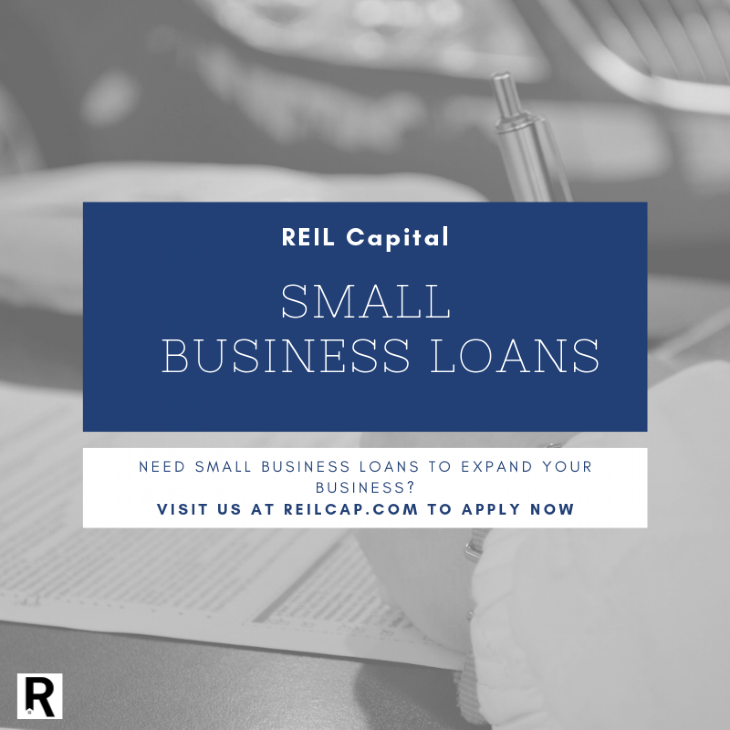 Business Financing Solutions Infographic