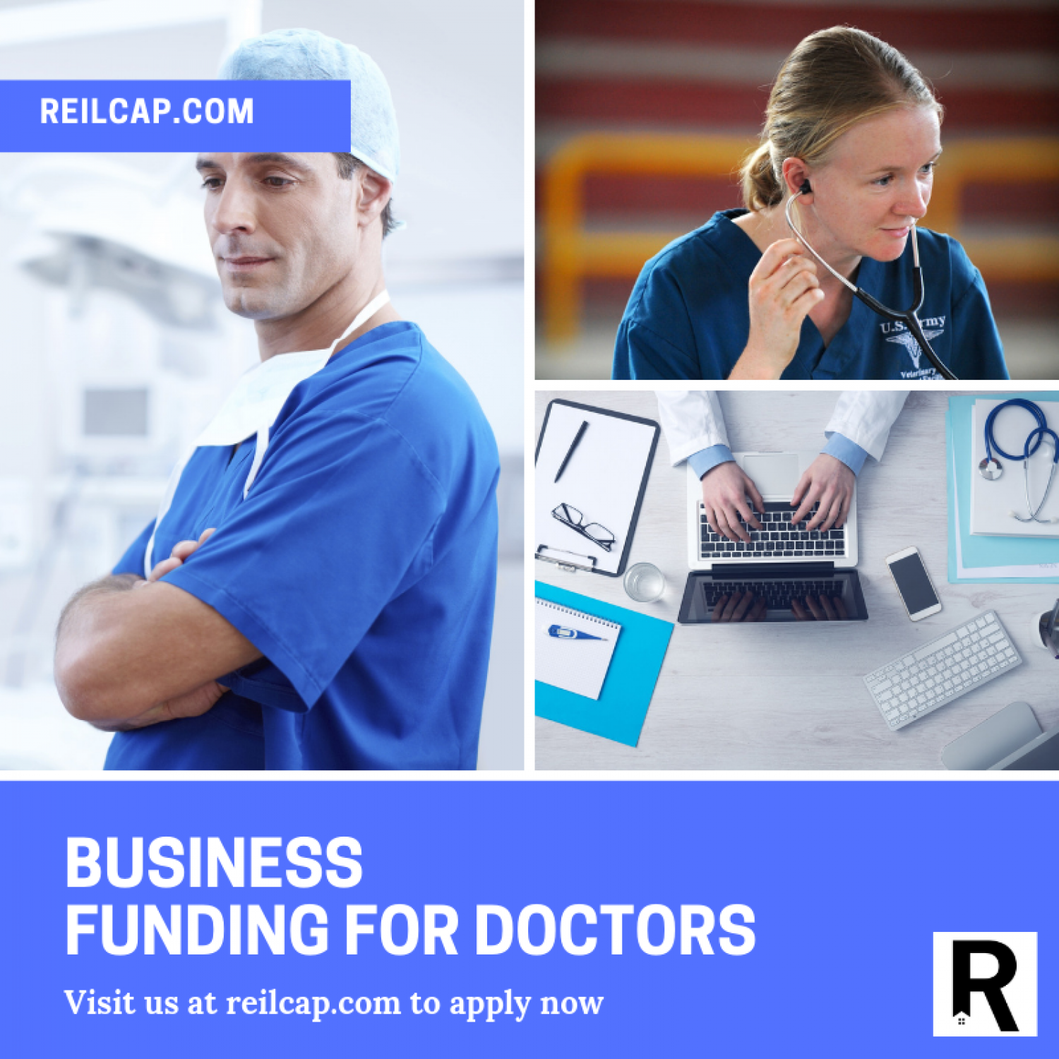 Business Funding For Doctors Infographic