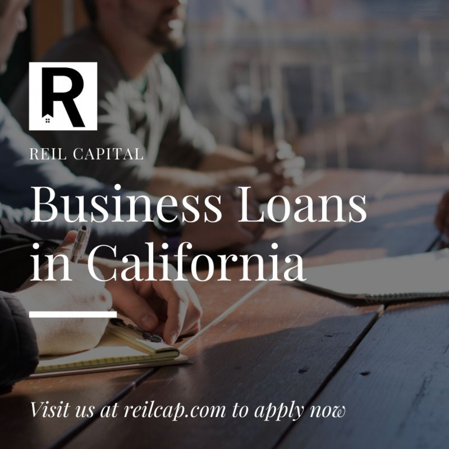 Business Loans in California Infographic