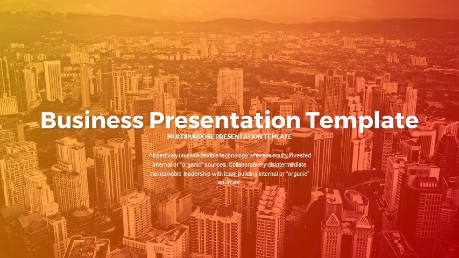 Business PowerPoint Templates Infographic